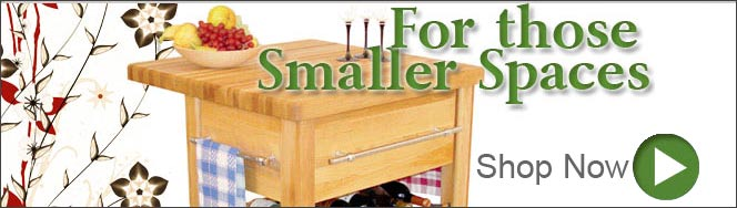 Kitchen Carts for smaller spaces