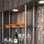 cabinet lighting: by tresco, hafele & hera