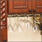 cabinet wine & stemware racks
