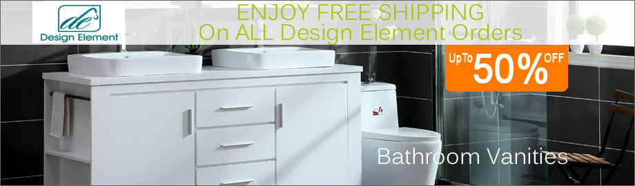 Design Element Bathroom Vanities and Storage