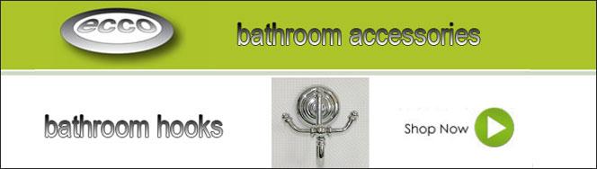 Ecco Bathroom Towel Hooks