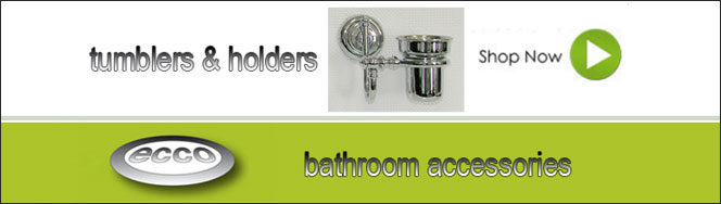 Ecco Bathroom Tumblers & Holders