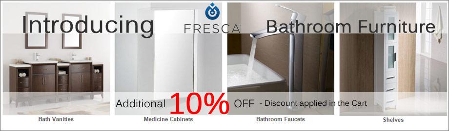Fresca Bathroom Storage on Sale