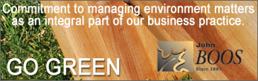 Commitment to managing environment matters as an integral part of our business practice.