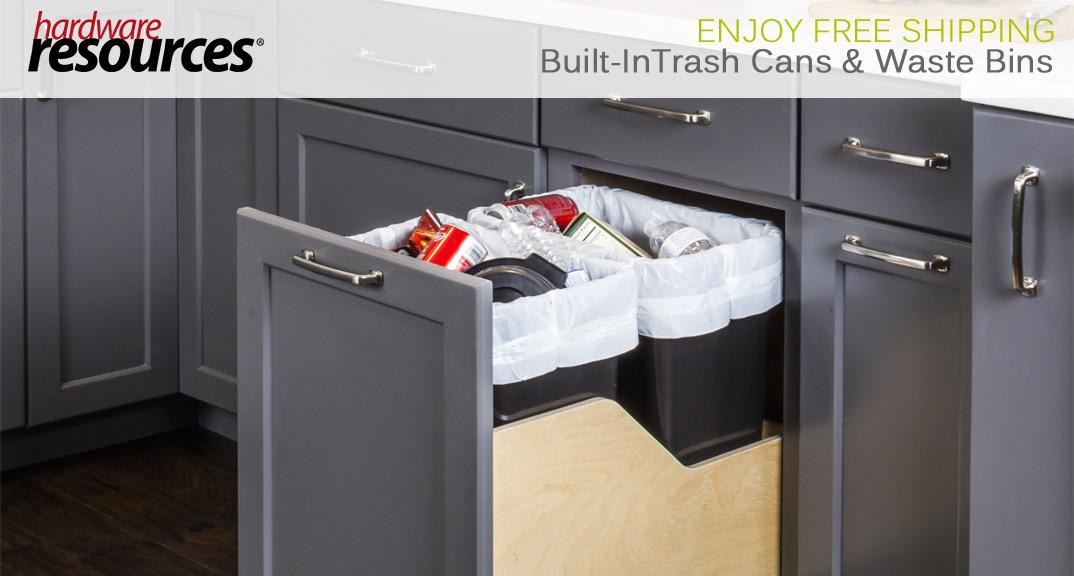Hardware Resources Trash Cans & Waste Bins