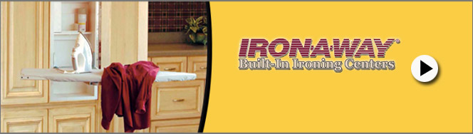 Iron-A-Way Built-In Ironing Centers