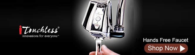 iTouchless Hands Free Faucet