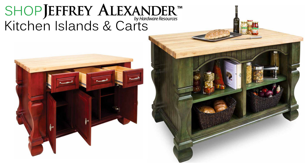Jeffrey Alexander Kitchen Islands at KitchenSource.com