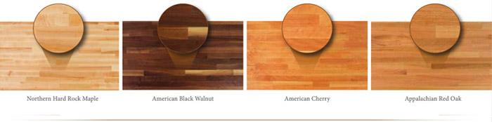 Wood Species - Blended Grain