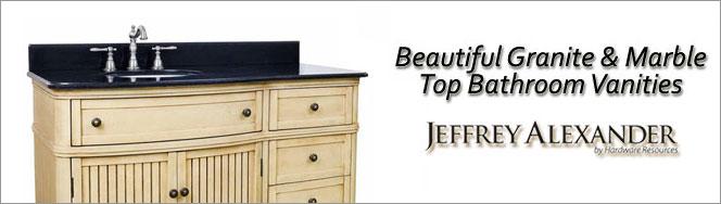 Jeffrey Alexander Bathroom Vanities - Jeffrey Alexander Solid Wood & MDF Bathroom Vanities - Available