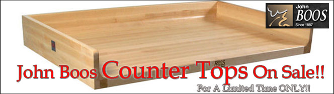 John Boos Counter Tops, On Sale