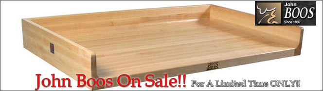 John Boos Table Tops, On Sale