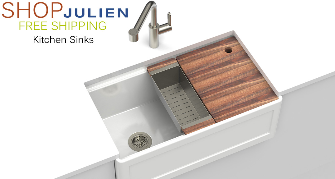 JULIEN Kitchen Sinks at KitchenSource.com