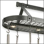 Pot Racks: Wall Pot racks, Hanging Pot Rack, Lighted Pot Racks and more