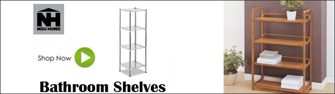 Neu Home Bathroom Shelves