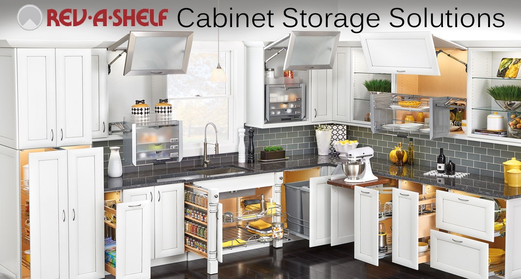 Rev-A-Shelf Cabinet Storage solutions and Organization at KitchenSource.com