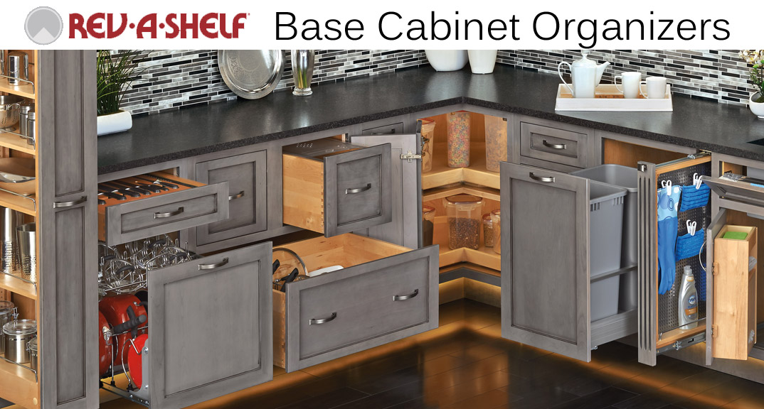 Rev-A-Shelf Base Cabinet Organizers at KitchenSource.com