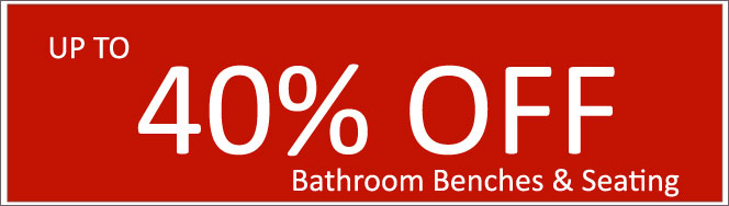 Today's Deals, Bathroom Benches & Seating On Sale Now!