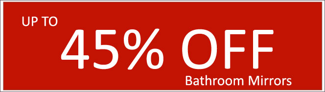 Today's Deals, Bathroom Mirrors On Sale Now!