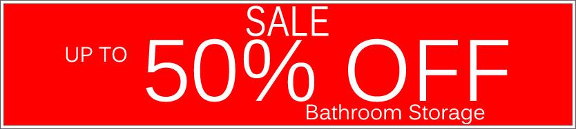 Today's Deals, Bathroom Storage On Sale Now!