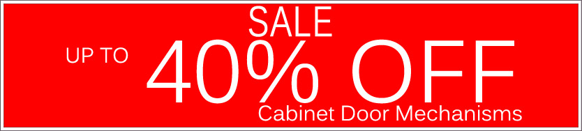 Today's Deals, Cabinet Door Mechanisms On Sale Now!