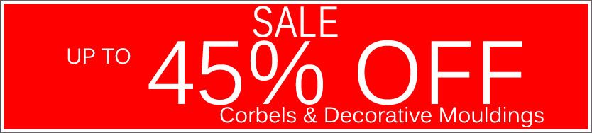 Today's Deals, Corbels On Sale Now!
