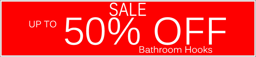 Today's Deals, Bathroom Hooks On Sale Now!