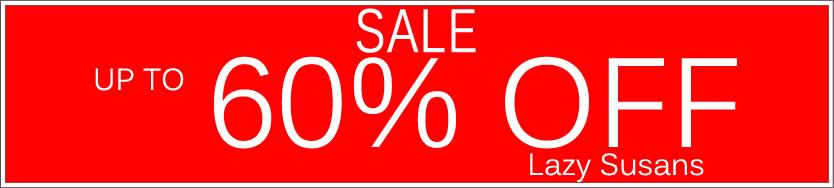 Today's Deals, Lazy Susans On Sale Now!