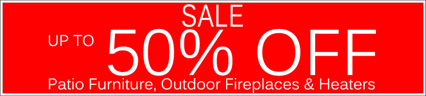 Today's Deals, Outdoor Fireplaces & Heaters On Sale Now!