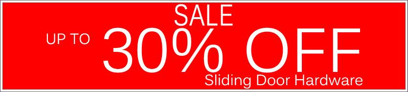 Today's Deals, Sliding Door Hardware On Sale Now!