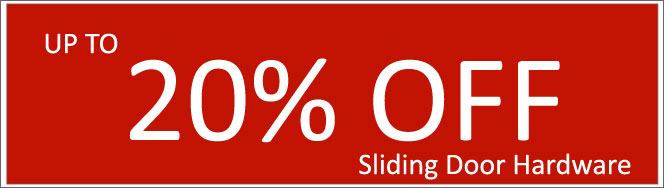 Today's Deals, Sliding Door Hardware On Sale Now!