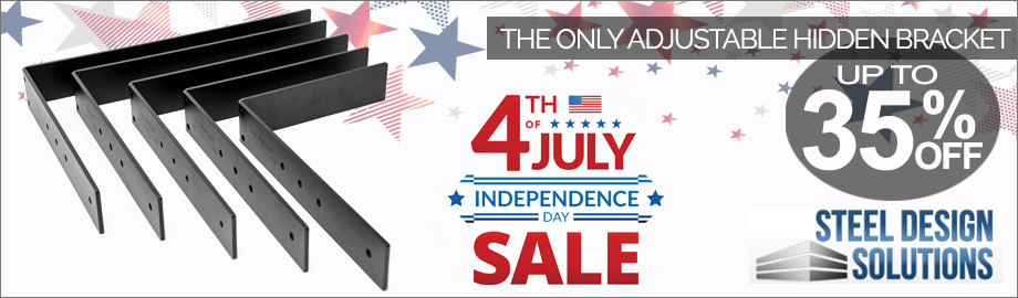 Steel Design Solutions 4th of July Sale