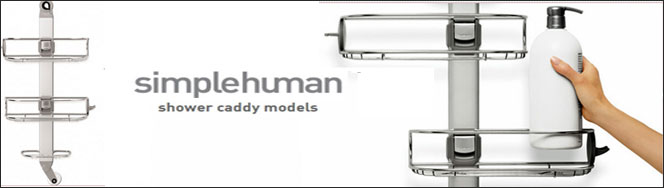 simplehuman � Shower Caddies