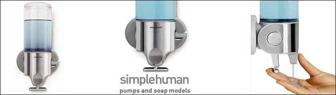 simplehuman ® Soap Dispensers
