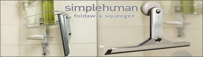 simplehuman � Bathroom Squeezee