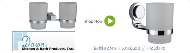 Dawn Sinks Bathroom Tumblers & Holders