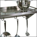 Shelves: Stainless Steel Shelves by John Boos, Danver & Whitehaus