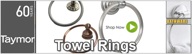 Taymor Bathroom Towel Rings
