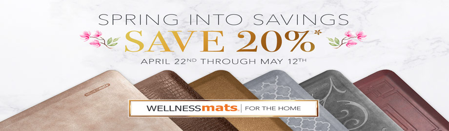 WellnessMats Anti-Fatigue Floor Mats for Kitchen or Office On Sale